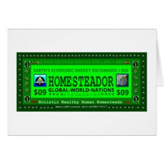 HOMESTEADOR-$09 CARD
