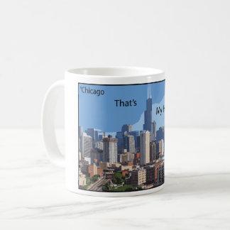 Hometown Chicago Coffee Mug