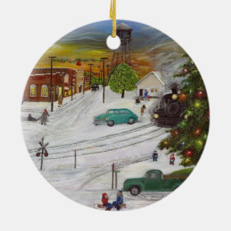 Hometown Christmas Ornament