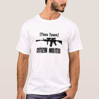 Hometown Militia (Customizable) T-Shirt