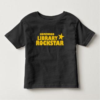 Homewood Library Rockstar Toddler Tshirt