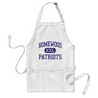 Homewood - Patriots - High - Homewood Alabama Aprons