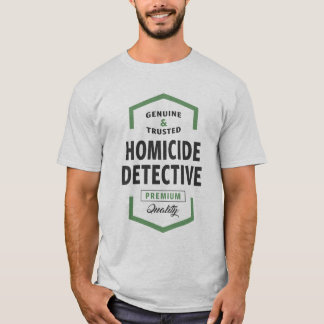 Homicide Detective Logo Tees