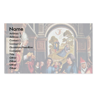 Homily Of St Ambrose By Orley, Bernard Van Business Cards