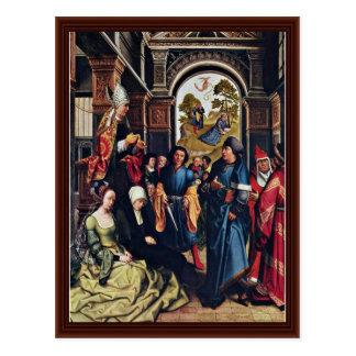 Homily Of St Ambrose By Orley, Bernard Van Post Cards