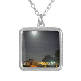 Homosassa at Night Silver Plated Necklace