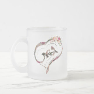 Homs city in the heart - حمص في القلب frosted glass coffee mug