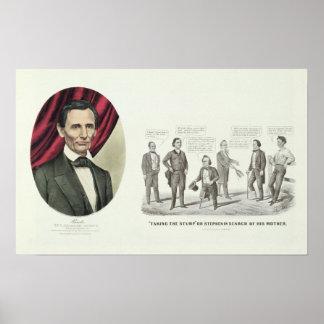 Hon. Abraham Lincoln Poster