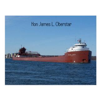 Hon James L. Oberstar Post Card
