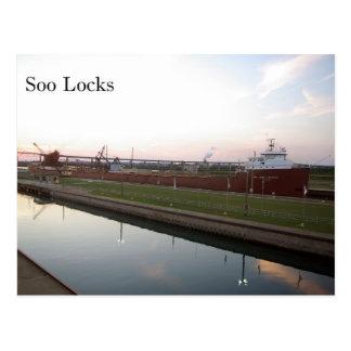 Hon James L. Oberstar Soo Locks Post Card