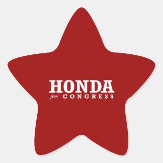 HONDA FOR CONGRESS 2014 STICKERS