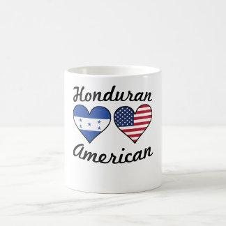 Honduran American Flag Hearts Coffee Mug