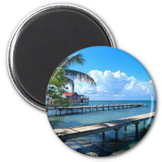 Honduras 6 Cm Round Magnet