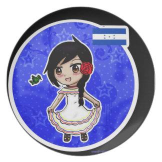 Honduras Anime Plate