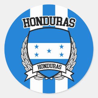 Honduras Classic Round Sticker
