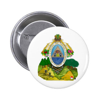Honduras Coat of Arms 6 Cm Round Badge