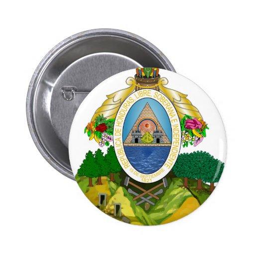 Honduras Coat Of Arms Pin