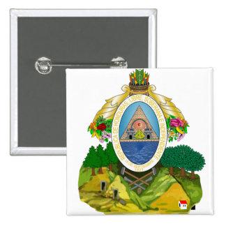Honduras Coat of arms HN Buttons