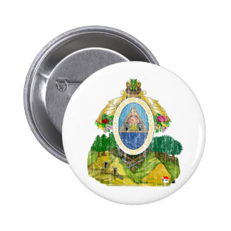 Honduras Coat Of Arms Pinback Button
