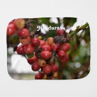 Honduras Coffee Beans Burp Cloth