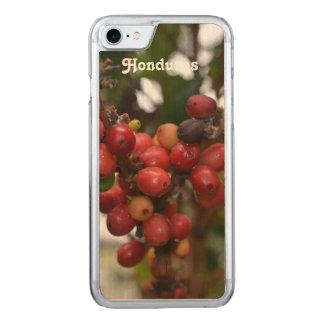Honduras Coffee Beans Carved iPhone 7 Case