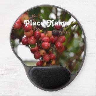 Honduras Coffee Beans Gel Mouse Pad