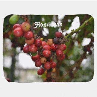 Honduras Coffee Beans Swaddle Blankets