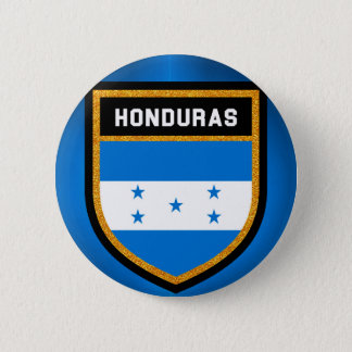 Honduras Flag 6 Cm Round Badge