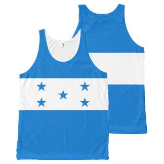 Honduras Flag All-Over Print Singlet