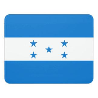 Honduras Flag Door Sign