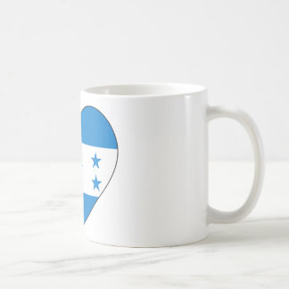 Honduras Flag Heart Coffee Mug