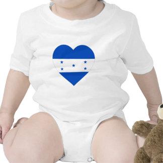 Honduras Flag Heart Shirt