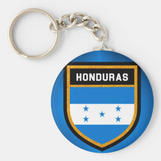 Honduras Flag Key Ring