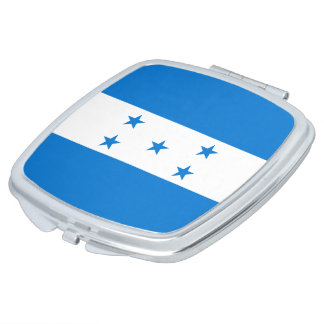 Honduras Flag Makeup Mirrors