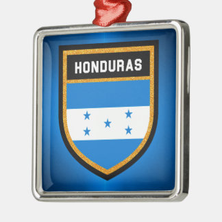 Honduras Flag Metal Ornament