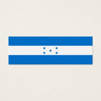 Honduras Flag Mini Business Card