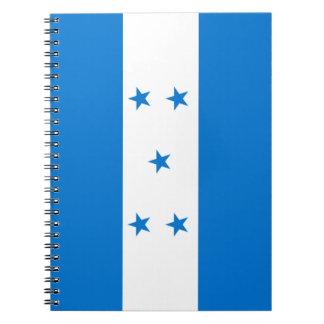 Honduras Flag Notebook