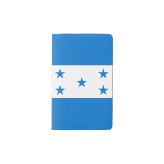 Honduras Flag Pocket Moleskine Notebook