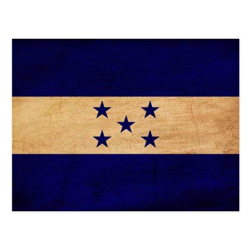 Honduras Flag Post Card