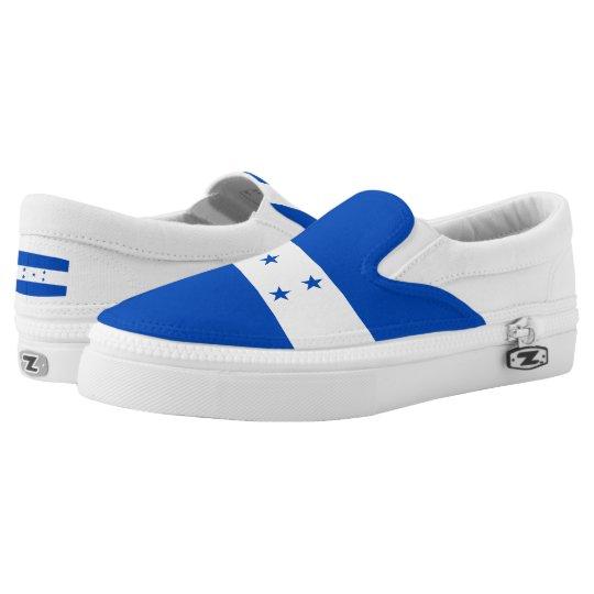 Honduras Flag Printed Shoes