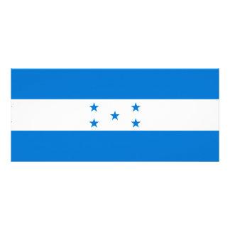 Honduras Flag Rack Card