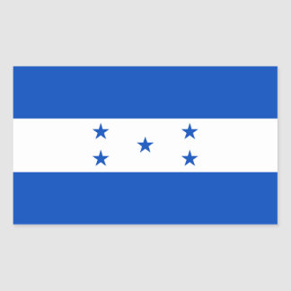 Honduras Flag Rectangular Sticker