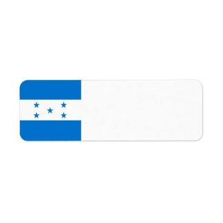 Honduras Flag Return Address Label