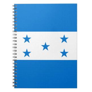 Honduras Flag Spiral Note Books