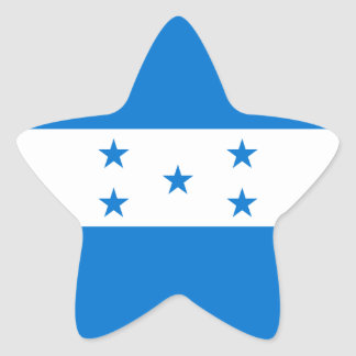 Honduras Flag Star Sticker