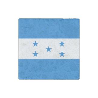 Honduras Flag Stone Magnet