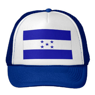 Honduras_flag trucker hat