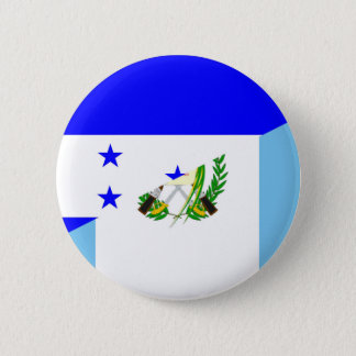 honduras guatemala country half flag symbol 6 cm round badge