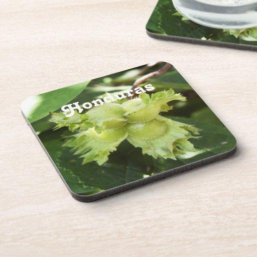 Honduras Hazelnuts Beverage Coasters