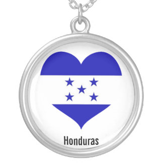 Honduras heart necklace